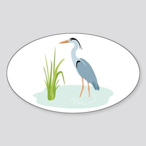 Blue Heron Sticker