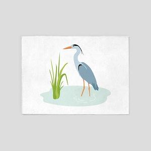 Blue Heron 5'x7'Area Rug