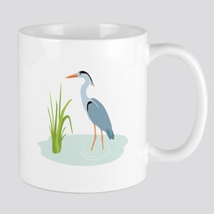 Blue Heron Mugs