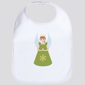 Snowflake Angel Bib