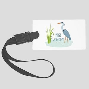 Bird Whisperer Luggage Tag
