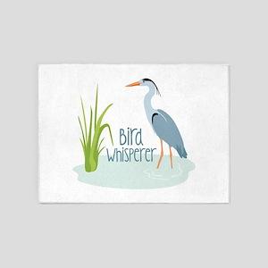 Bird Whisperer 5'x7'Area Rug