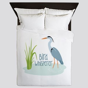 Bird Whisperer Queen Duvet