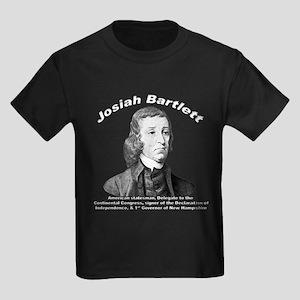 Josiah Bartlett 01 Kids Dark T-Shirt