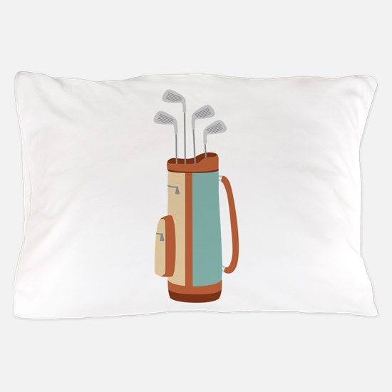 Golf Bag Pillow Case