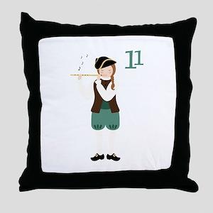 11 Throw Pillow