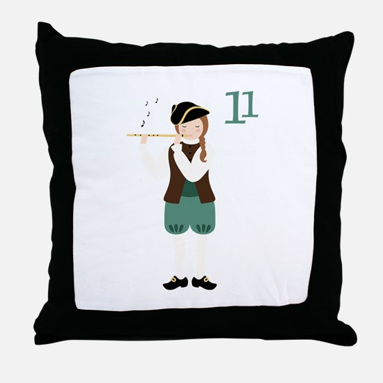 11 Throw Pillow
