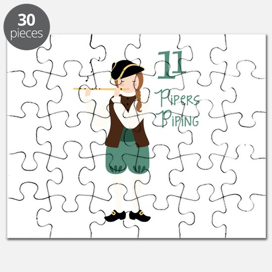 11 PiPeRS PiPiNG Puzzle