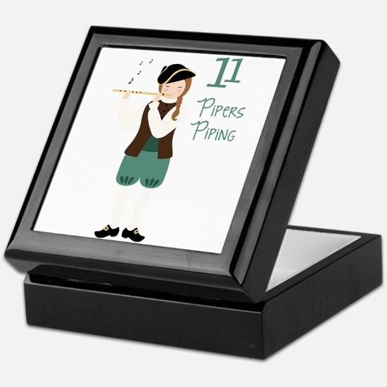 11 PiPeRS PiPiNG Keepsake Box