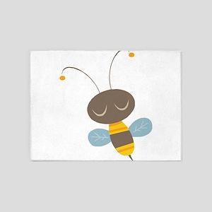 CUTE BEE 5'x7'Area Rug