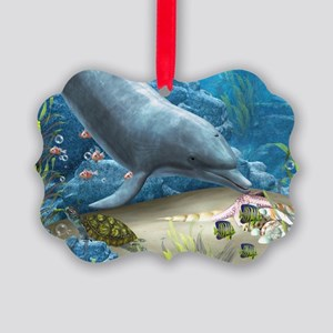 The World Of The Dolphin Ornament