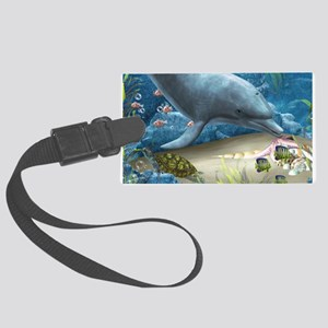 The World Of The Dolphin Luggage Tag