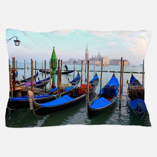 Gondolas Pillow Case