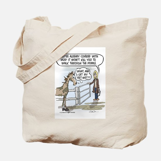 Puddle Shy Tote Bag