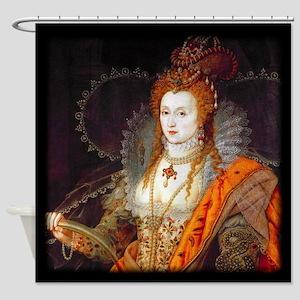 Queen Elizabeth I Shower Curtain
