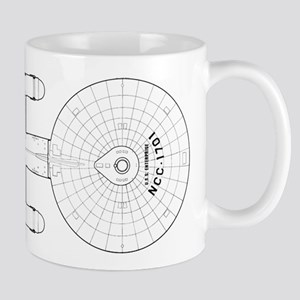 Enterprise Blueprint Mugs