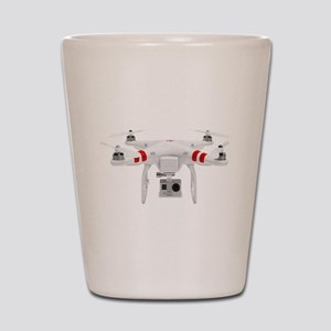 dji Phantom Quadcopter Shot Glass