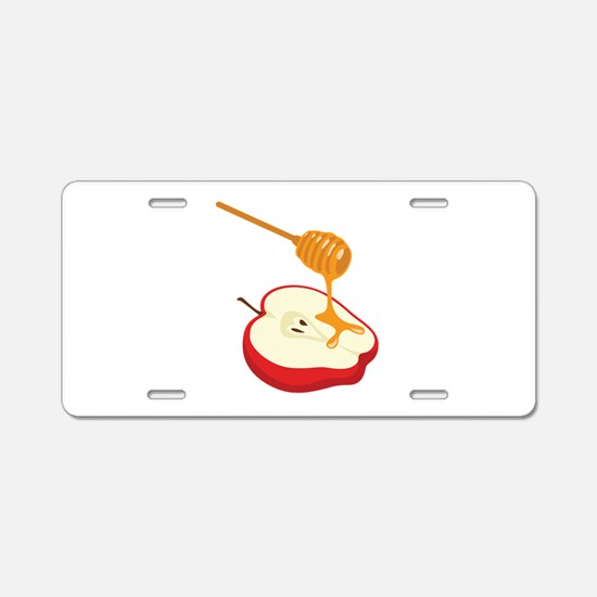 Sweet Honey Apple Aluminum License Plate