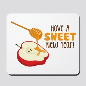 Have A SWEET New Year! Mousepad