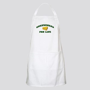 Cheesehead For Life BBQ Apron
