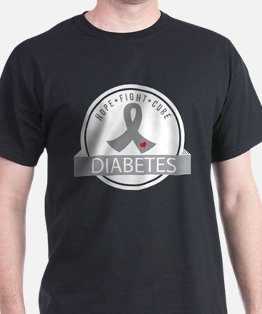 Hope Fight Cure Diabetes T-Shirt