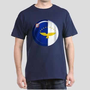 Azores islands flag Dark T-Shirt