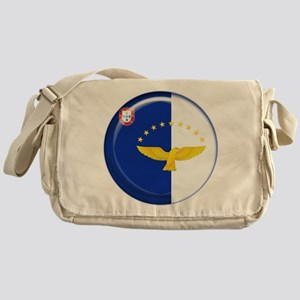 Azores islands flag Messenger Bag