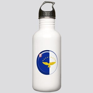 Azores islands flag Stainless Water Bottle 1.0L