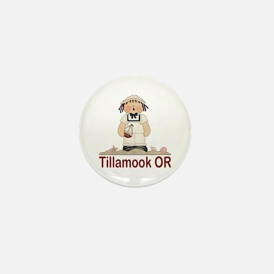 Tillamook Oregon Mini Button