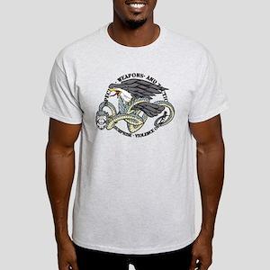 SWAT Eagle and Snake Light T-Shirt