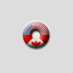 USA - Canada Mini Button