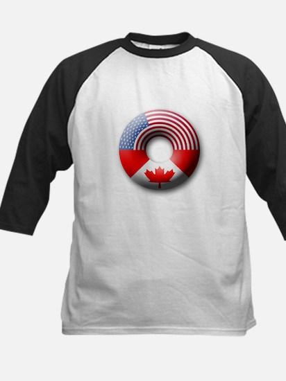 USA - Canada Kids Baseball Jersey
