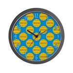 Water Polo Balls Wall Clock