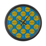Water Polo Balls Large Wall Clock