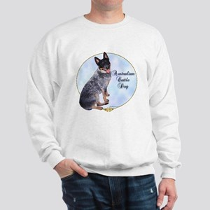 Cattle Dog Portrait Sweatshirt