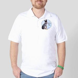 Cattle Dog Portrait Golf Shirt