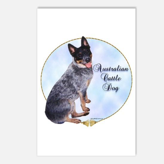 Cattle Dog Portrait Postcards (Package of 8)