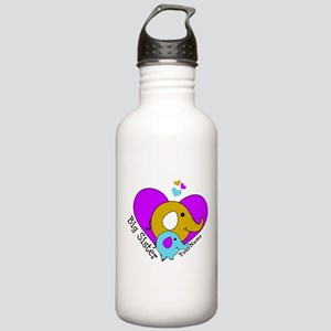 Big Sister Elephant Pe Stainless Water Bottle 1.0L