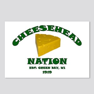 Cheesehead Nation Postcards (Package of 8)