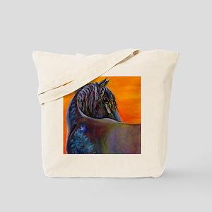 Friesian Sunset Tote Bag