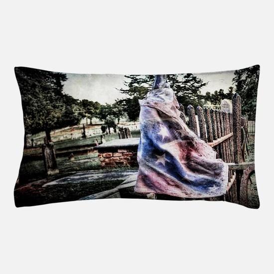 Old Rebel Flag Pillow Case