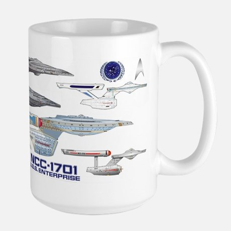 U.S.S. Enterprise Lineage Mug