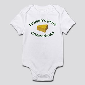 Mommy's Cheesehead Infant Bodysuit