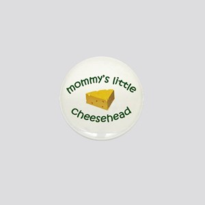 Mommy's Cheesehead Mini Button