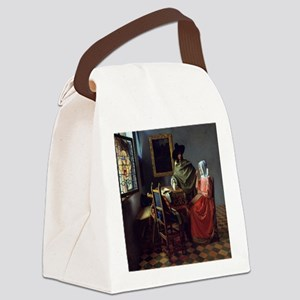 The Wine Glass Canvas Lunch Bag