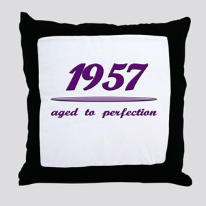 Perfect 1957 Throw Pillow
