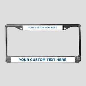 License Plate Frames Cafepress