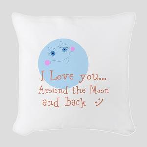 I Love You... Woven Throw Pillow