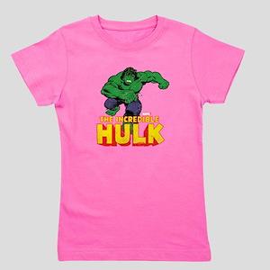 Hulk Running Girl's Tee