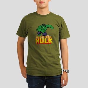 Hulk Running Organic Men's T-Shirt (dark)